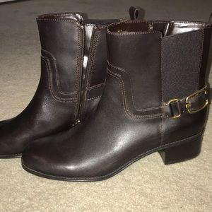women's 9.5 brown bandolino boots